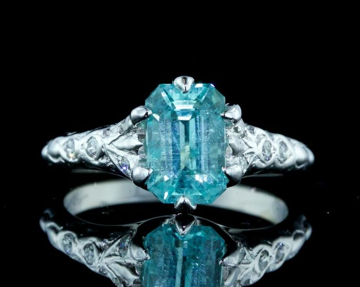 221 best paraiba and diamond ringP images on Pinterest