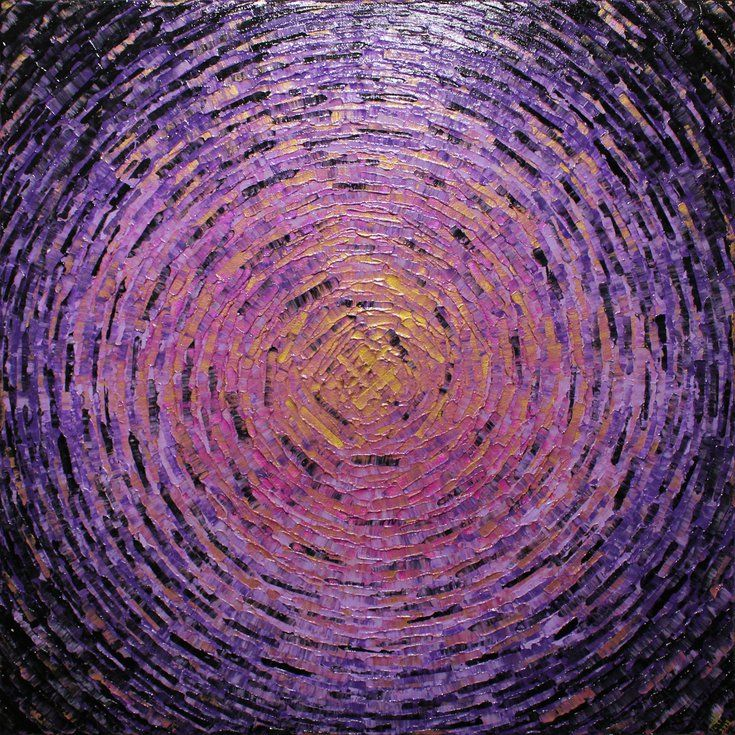 Shard Of Gold Purple Color 2019 Acrylic Painting By Jonathan Pradillon In 2020 Purple Gold Original Art Painting Painting Edges