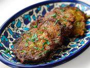leek fritters (passover, rosh hashana)
