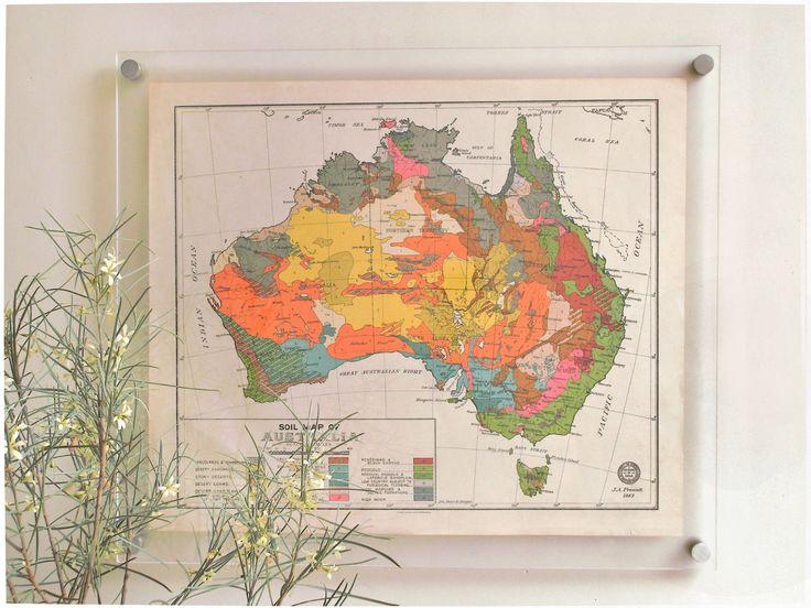 Australia 1943,Maps, from Roquwood