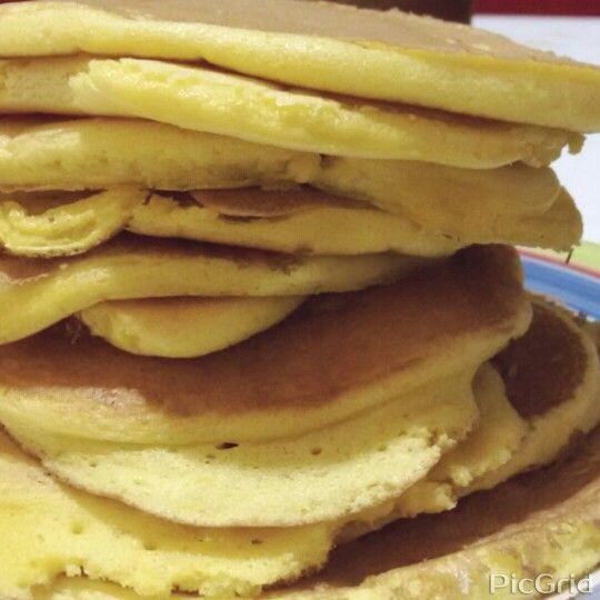 ♦American Pancakes/Panquecas americanas ♦JamieOliver ♦Mafalda ♦Homemade/ Feito em casa♦