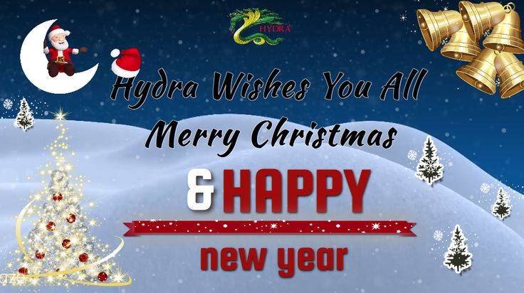 http://app.emaze.com/@AOLCLRLQ/wishing-christmas#1 Hydra wishes you all Merry #Christmas and a very Happy #New Year. We wish for a prosperous and joyful Christmas and New Year for everyone from the bottom of our heart and want to inform you that All #Orders received after 22nd of December time will be processed on Monday, 5th January 2015.