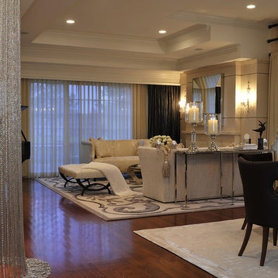 Living Room And Dining Combo