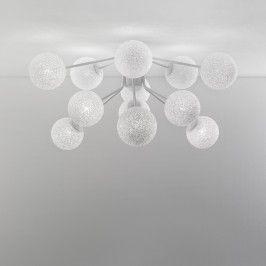 Lumen Center - Iceglobe Micro - Iceglobe Micro P PL - Plafonnier 12 lumières