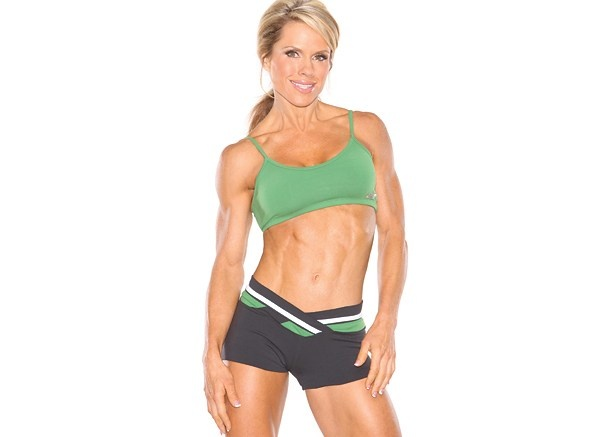 monica brant. i'll never be a bodybuilder but this is what proper fit looks like