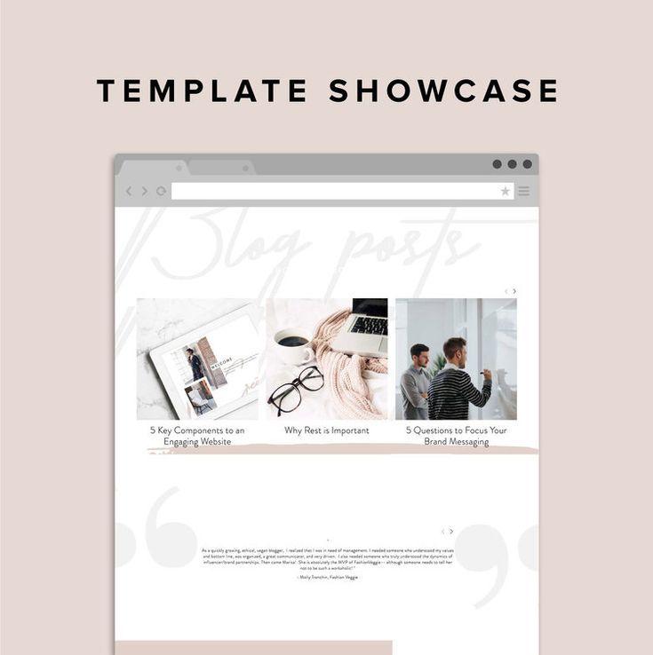 Squarespace Template Showcase Rise Creative Co Squarespace Templates
