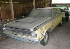 real barn find cars for sale | 1965 Dodge Coronet 426 Hemi For Sale barn Find