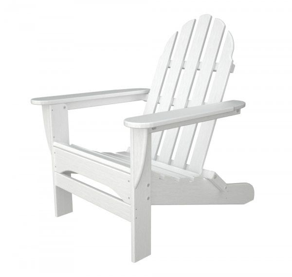 Polywood Adirondack Chair White 35 75 H X 29 00 W D At Harvey Haley For Only 270 45