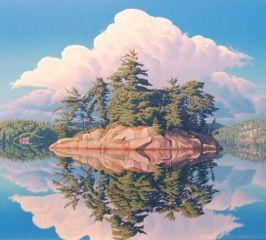 """""""Reflection, Wolf Lake"""""""