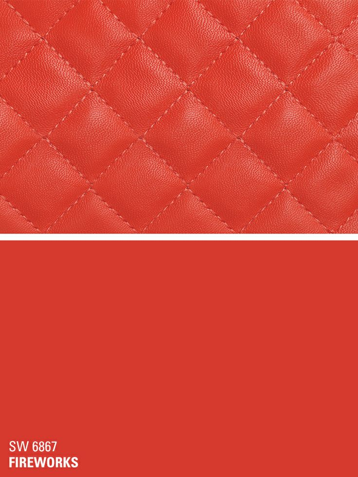 Sherwin Williams Red Paint Color U2013 Fireworks (SW 6867)
