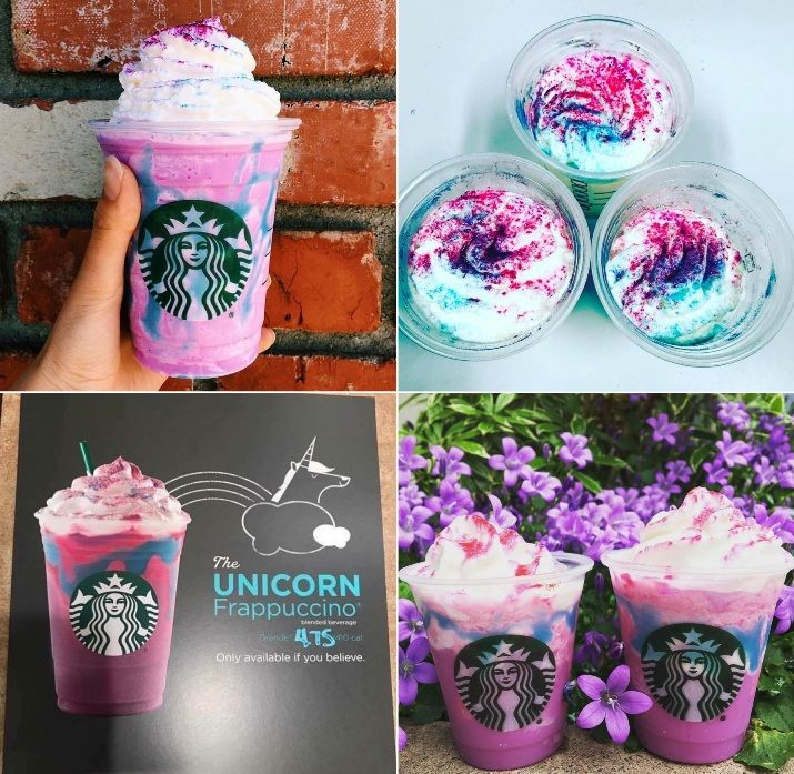 It's real! The Unicorn Frappuccino is coming to a Starbucks near you April 19th!