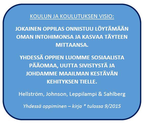 Hellström: Pedagogiikkaa ja koulupolitiikkaa II: Yhdessä oppiminen- teos pähkinänkuoressa