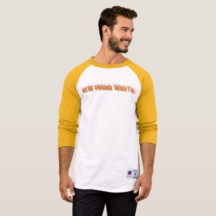 "NFW! ""FIRE"" CHAMPION brand RAGLAN T-Shirt - mens sportswear fitness apparel sports men healthy life"