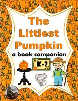 This package contains a book companion for the story The Littlest Pumpkin by R.A. Herman and Betina Ogden. It's about a little pumpkin that dreams of being a jack-o-lantern. Unfortunately, after a succession of visitors to Mr. Bartlett's farm, the Littlest Pumpkin still has not been picked.