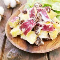 レンジで簡単レシピ❤️ゴロゴロさつま芋のデリ風サラダ