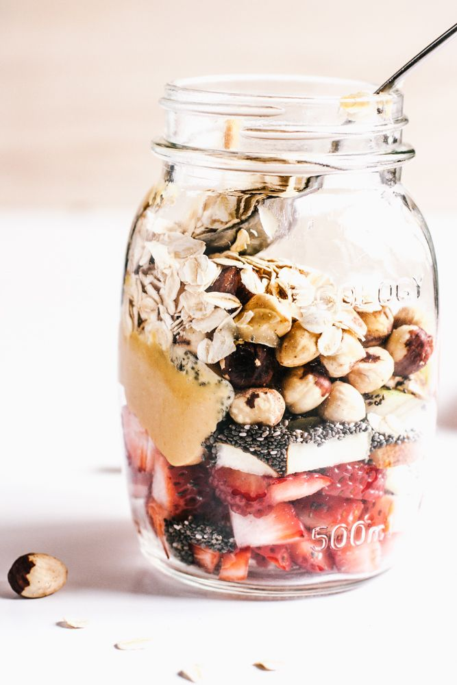 Breakfast jar | #recipe #Healthy @xhealthyrecipex |
