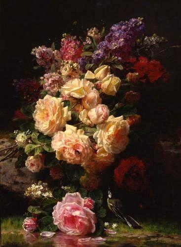 Jean Robie  Still Life: Flowers  1905