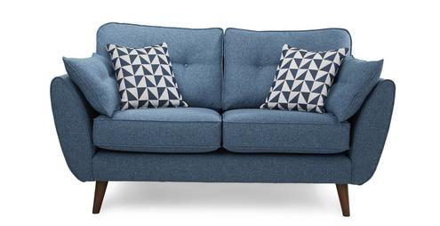 2 Seater Sofa Zinc | DFS 749 GBP 161x91x88