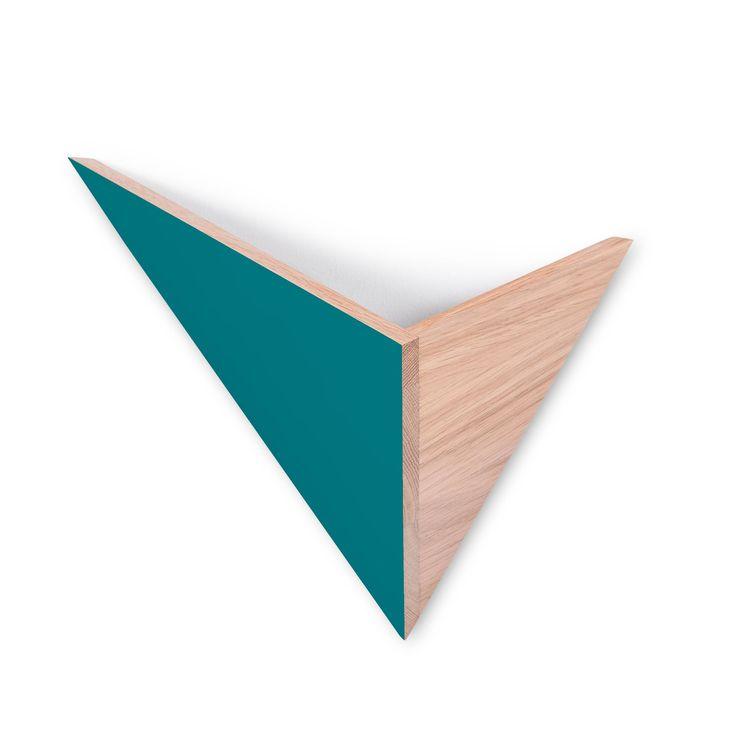 Applique murale de la collection Flèche, composée d'une structure triangulée…