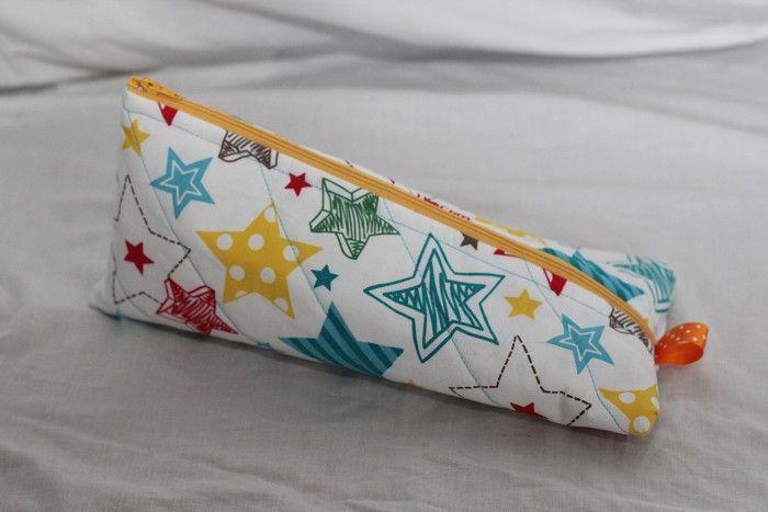 Cute star pencil case, make-up bag, or nappy bag organiser!