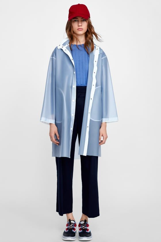half off exquisite craftsmanship professional Image 1 of TRANSPARENT RAINCOAT from Zara | les désirs in ...