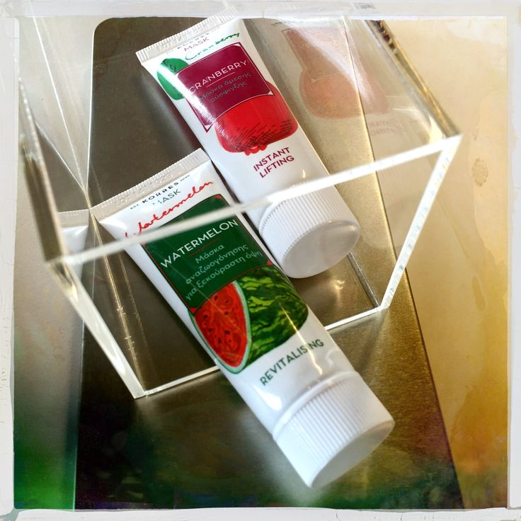 Cranberry Mask / Instant Lifting & Watermelon Mask / Revitalising
