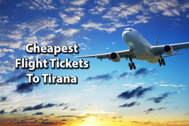 Buy cheapest flight tickets to Tirana on comparing travel websites and visit the beautiful place by spending few bucks only.