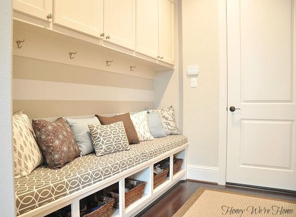 Turn hall closet into this!  Honey Were Home