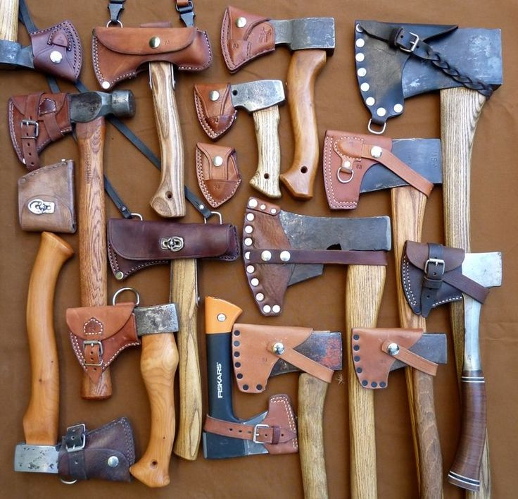 On a hunt for sheath inspiration for ma trail hawk :)