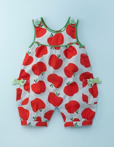 fabulous baby girl dungarees are part of Mini Boden's spring line