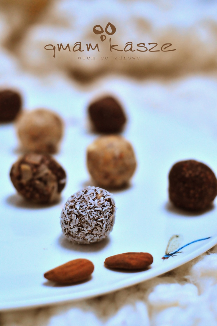 healthy sweets  chocolate, almond and coconut one