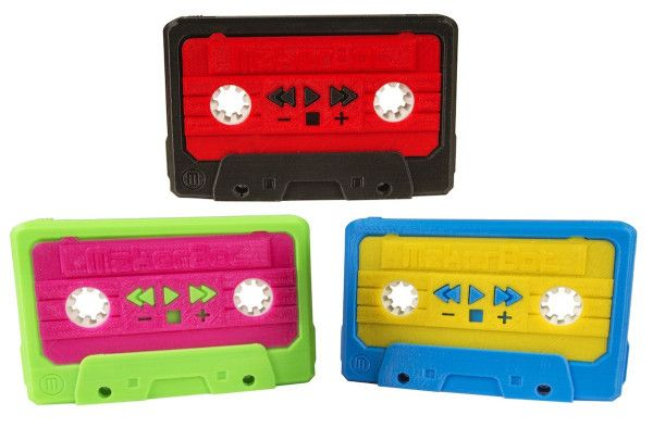 A 3D-Printed Cassette Mixtape That Is Both Futuristic And Retro At The Same Time - DesignTAXI.com