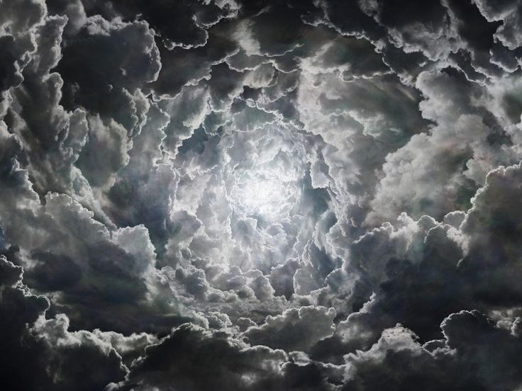 Photographer Seb Janiak brings the heavens to Earth with his carefully constructed cloudscapes.