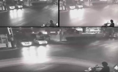 CHINA - Câmera de Monitoramento de tráfego capturou um evento estranho e Bizarro!!