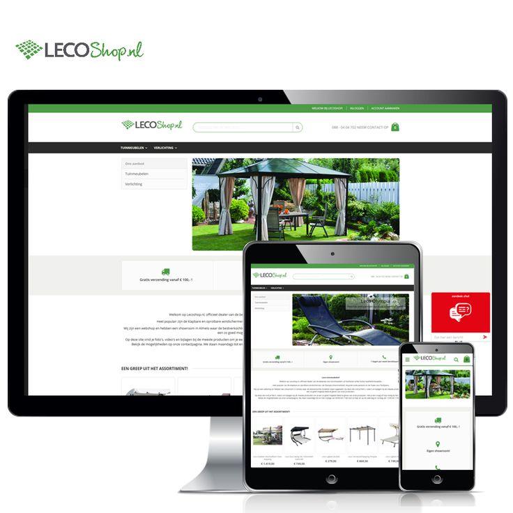 www.lecoshop.nl – De vernieuwde webshop van Leco heeft een groot aanbod van de bekende Leco tuinmeubelen. Tuinmeubelen van Leco zijn echte kwaliteitsmeubelen uit Duitsland. Vooral de klapbare en oprolbare windschermen zijn populair. Dus bekijk snel onze webshop en misschien staan deze mooie tuinmeubelen binnenkort in jouw tuin!   Volg Hoppashops ook op: Twitter - https://twitter.com/Hoppashops