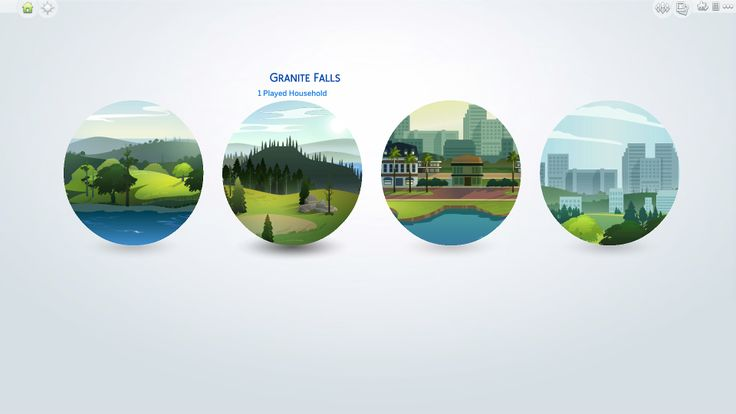 The Sims 4 | zerbu Change World Type: Granite Falls to Residential or Residential World to Destination World | gameplay mod