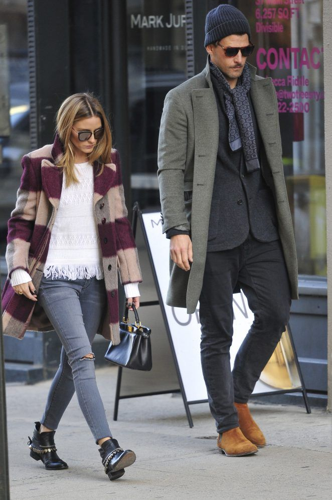 OP & JH - Olivia Palermo in Jeans out in New York - November 12, 2016
