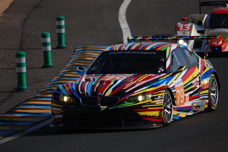 Bmw M3 Lm Gt2 (Art Car By Jeff Koons) Bmw Motorsport