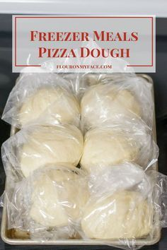 Freezer Meals-Pizza Dough It's been too long since I shared a Freezer Meals recipe! This Freezer Meals-Pizza Dough recipe is one of my favorite homemade pizza dough recipes and is perfect for your freezer cooking meal plan.