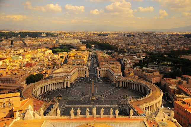 The Vatican, among other Italian destinations, a must in this lifetime!