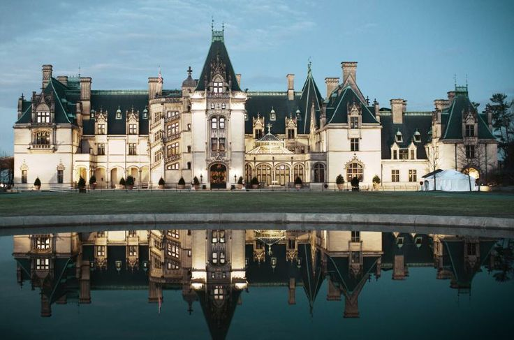 The Biltmore House in Asheville...I never get tired of going there.