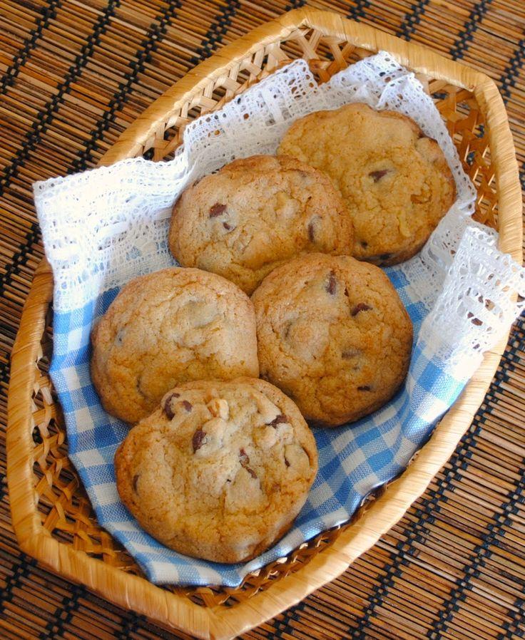 Невыразимая легкость кулинарного бытия...: Американское печенье с кусочками шоколада