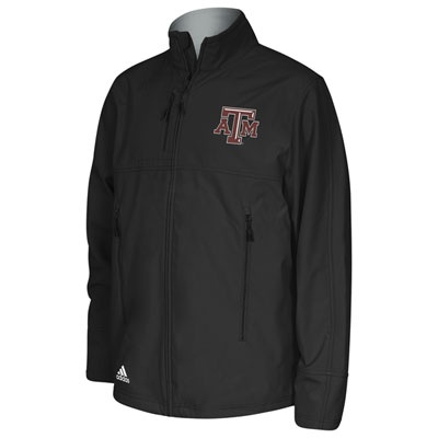 For Ernie?? Texas A Aggies Maroon adidas Primary Logo Midweight Full-Zip Jacket