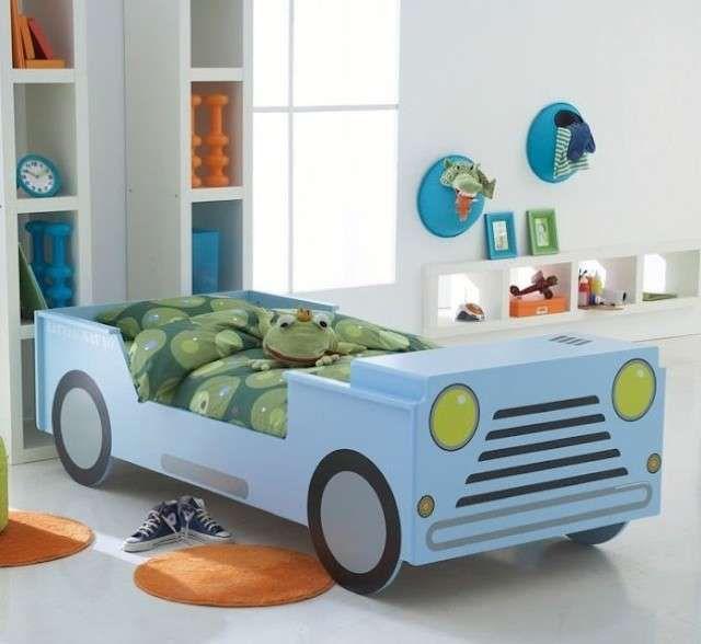 Oltre 25 fantastiche idee su letto per bambini su - Letto macchina per bambini ...