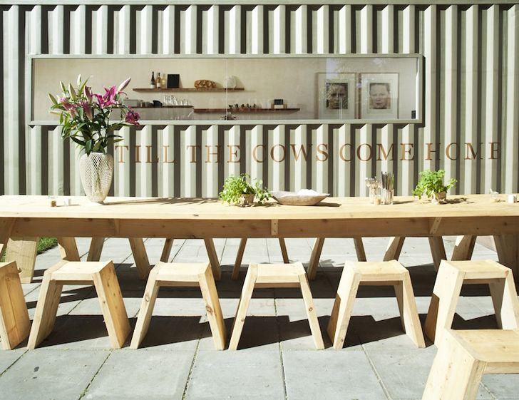 17 mejores ideas sobre container restaurant en pinterest ...