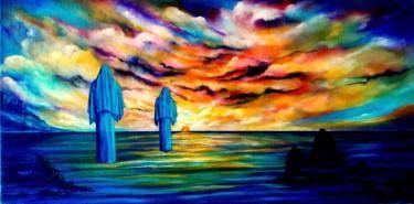 """Saatchi Art Artist Giuseppe Alberto Regoli; Painting, """"Praise the sun"""" #art"""