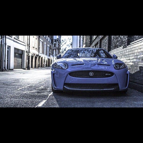 Beautiful Purple Jaguar XKR-S