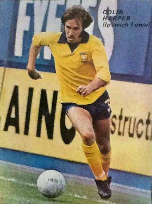 Colin Harper of Ipswich Town in 1973.