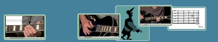 guitar lessons - online - he also has some free lessons on YouTube