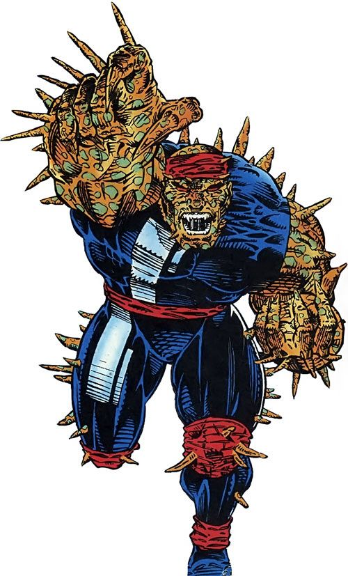 Tyr of the Gene Dogs (Marvel Comics UK). From http://www.writeups.org/tyr-gene-dogs-marvel-comics-uk/